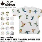 ジムマスター gym master ビッグペイント半袖Tシャツ G733303 (メール便不可)