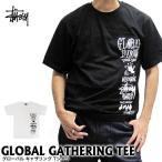 ステューシー STUSSY グローバル ギャザリング 半袖Tシャツ 1903900 (メール便対応)
