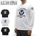 ショッピングエアフォース U.S. AIR FORCE ユーエスエアフォース  長袖 Tシャツ