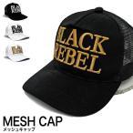 BLACK REBEL ブラックレーベル キャップ メッシュキャップ 帽子 (メール便不可)