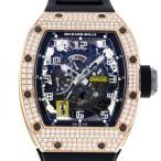 リシャール・ミル その他 オートマティック デクラッチャブルローター ダイヤモンド RM030 ブラック文字盤 メンズ 腕時計 新品