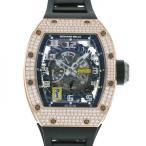 リシャールミル オートマチック デクッチャブル ローター RM030 スケルトン文字盤 メンズ 腕時計 新品