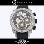 ジェイコブ エピック エピックII ベゼルダイヤ JC-E1D シルバー/ブラック文字盤 メンズ 腕時計 新品
