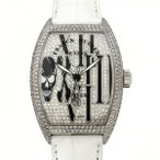フランク・ミュラー ノーカーベックス ゴシック アロンジェ  8880SCD ダイヤモンド文字盤 メンズ 腕時計 新品