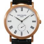 パテック フィリップ カラトラバ 5116R-001 ホワイト文字盤 メンズ 腕時計 新品