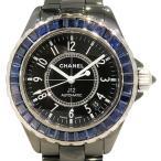 シャネル J12 H1693 ブラック文字盤 メンズ 腕時計 中古
