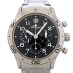 ブレゲ アエロナバル 3800ST/92/SW9 ブラック文字盤 メンズ 腕時計 中古