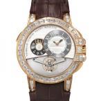 ハリー・ウィンストン  オーシャン トゥールビヨン ビッグデイト世界限5本 OCEMTD45RR003 シルバー文字盤 メンズ 腕時計 新品