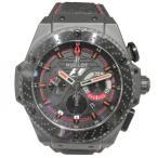 ウブロ HUBLOT キングパワー F1 世界限定500本 703.CI.1123.NR.FMO10 ブラック文字盤 メンズ 腕時計 中古