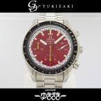 オメガ スピードマスター レーシング ミハエル シューマッハ  3510.61 レッド文字盤 メンズ 腕時計 中古