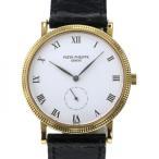 パテック フィリップ カラトラバ 3919J-001 ホワイト文字盤 メンズ 腕時計 中古