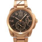 カルティエ カリブル ドゥ カルティエ W7100040 チョコレートブラウン文字盤 メンズ 腕時計 新品