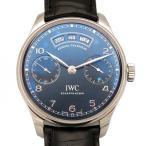 アイ・ダブリュ・シー IWC ポルトギーゼ アニュアル カレンダー IW503502 ネイビー文字盤 メンズ 腕時計 新品