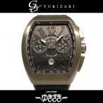 フランク・ミュラー FRANCK MULLER ヴァンガード クロノグラフ V45CC DT TT BR NR ブラック文字盤 メンズ 腕時計 新品