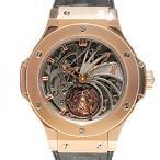 ウブロ ビッグバン ミニッツリピーター トゥールビヨン ゴールド 世界限定10本 304.PX.1180.LR スケルトン文字盤 メンズ 腕時計 中古