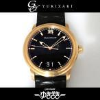 ブランパン その他 レマン グランドデイト ダブルウィンドウ 333本限定 - ブラック文字盤 メンズ 腕時計 中古