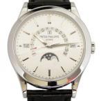 パテック フィリップ パーペチュアルカレンダー 5496P-001 シルバー文字盤 メンズ 腕時計 新品
