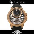 ハリー・ウィンストン オーシャン トゥールビヨン ジャンピングアワー 世界限定75本 OCEMTJ45RR001 スケルトン文字盤 メンズ 腕時計 新品