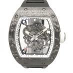 リシャールミル バッバ・ワトソン ホワイトレジェンド アメリカ限定88本 RM055 スケルトン文字盤 メンズ 腕時計 新品