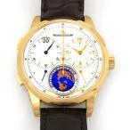 ジャガー・ルクルト デュオメトル ユニーク トラベルタイム  Q6062520 シルバー文字盤 メンズ 腕時計 新品