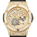 ウブロ クラシックフュージョン クラシコ ウルトラシン 515.OX.9000.LR.0904 ゴールド文字盤 メンズ 腕時計 新品