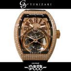 フランク・ミュラー ヴァンガード トゥールビヨン V 45 T GRAVITY CS D CD 5N NR 全面ダイヤ文字盤 メンズ 腕時計 新品