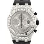 オーデマ・ピゲ ロイヤルオークオフショア 26067BC.ZZ.D002CR.01 全面ダイヤ文字盤 メンズ 腕時計 中古