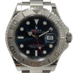 ロレックス ヨットマスター ロレジウム 116622 ブルー文字盤 メンズ 腕時計 中古
