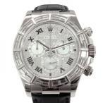 ロレックス デイトナ 116589 ダイヤモンド文字盤 メンズ 腕時計 中古