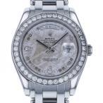 ロレックス デイデイト 18946 2BR シルバー文字盤 メンズ 腕時計 中古