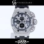 オーデマ・ピゲ ロイヤルオーク オフショア クロノグラフ 26215OR.ZZ.A801CR.01  ダイヤモンド文字盤 メンズ 腕時計 中古