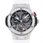 ウブロ その他 ビガーバン ダイヤモンド トゥールビヨン 308.TX.130.RX.094 グレー文字盤 メンズ 腕時計 中古