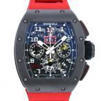 リシャール・ミル その他 フェリペマッサ RM011 AK TI ブラック文字盤 メンズ 腕時計 中古