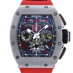 リシャール・ミル その他 フェリペマッサ RM011AMTI ブラック文字盤 メンズ 腕時計 中古