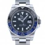 ロレックス GMTマスター II 116710BLNR ブラック文字盤 メンズ 腕時計 中古