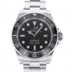 ロレックス シードゥエラー 4000 116600 ブラック文字盤 メンズ 腕時計 中古