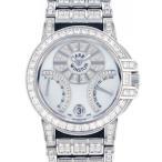 ハリー・ウィンストン オーシャン バイレトログラード 400-UABI36W ホワイト文字盤 メンズ 腕時計 中古