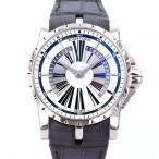 ロジェ・デュブイ エクスカリバー RDDBEX0259 シルバー文字盤 メンズ 腕時計 中古