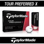 TaylorMade(テーラーメイド) ツアープリファード(TOUR PREFERRED) X ボール 1ダース(12個入り)