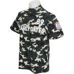 パーリーゲイツ PEARLY GATES ソルディフェンダー カモプリント半袖シャツ 053-7267751 半袖シャツ・ポロシャツ