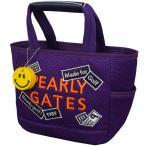 パーリーゲイツ PEARLY GATES ステッカー柄ワッペン カートバッグ