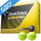 BRIDGESTONE ブリヂストン  ゴルフボール TOURSTAGE エクストラディスタンス 1ダース  12個入り  ホワイト TEWX