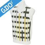 マンシングウェア Munsingwear ゴルフウェア メンズ ベスト チェック柄Vネックニットベスト SG5063 ベスト