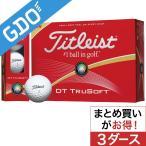タイトリスト DT DT TRUSOFT ボール 2016年モデル 3ダースセット ボール
