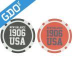 ニューバランス New Balance METRO シューズ総柄×1906USAコインマーカー 012-7184013 ラウンド小物