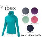 ibex アイベックス パーカー レディース W's インディ フーデイ 19830523 IBE19830523