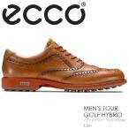 【送料無料】ECCO エコー MENS TOUR GOLF HYBRID【141514-57863】LION メンズ ゴルフシューズ