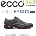 【送料無料】ECCO エコー MENS TOUR GOLF HYBRID【141514-57969】 メンズ ゴルフシューズ