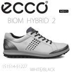 【送料無料】【2016年NEWカラー】ECCO エコー MEN'S BIOM HYBRID2【151514-51227】 メンズ ゴルフシューズ