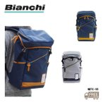 【Bianchi】 ビアンキ かぶせリュック NBTC55 カジュアル シンプル 自転車 男女兼用 イタリア DUALTEX 25L 撥水 大容量 送料無料